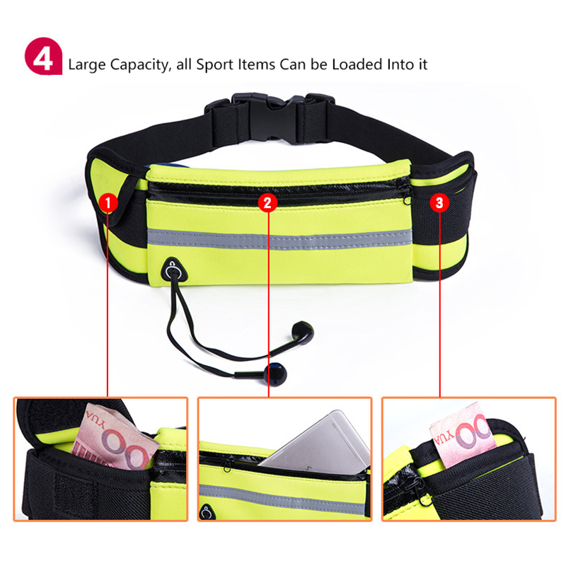 Men Women Running Waist Bag Waterproof Mobile Phone Holder Jogging Sports Running Gym Fitness Bag Lady Sport Accessories 15
