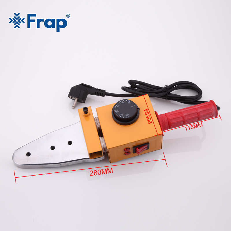 Frap ช่างประปาเครื่องมือกล่องเหล็กอุณหภูมิควบคุมท่อพลาสติกท่อเชื่อมเครื่อง, ท่อ PPR เครื่องเชื่อม AC 110/220 V 20-63 มม. ใช้