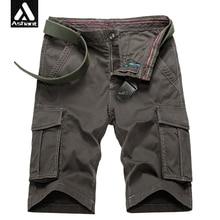 Männer Neue Sommer Cargo-Shorts Alle Baumwolle Khaki Taktische Kraft Kurzen größe 28 38 40 mann military armee 2017 marke kleidung ashant