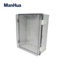 MANHUA Waterproof Plastic box 400*300*170mm IP65 ABS Polycarbonate Enclosure Box  junction box Distribution enclosure
