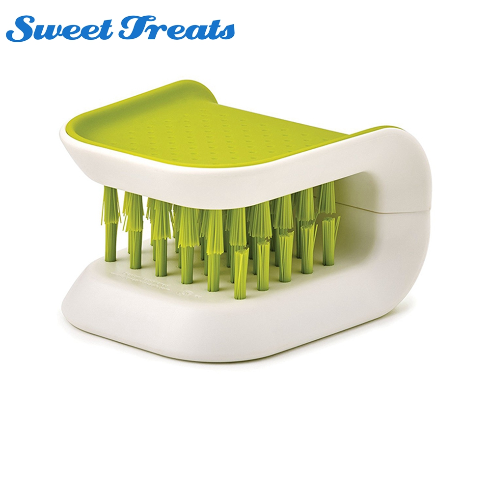Sweettreats Handy Cutlery Cleaner Fork Spoon Cooking Knife Tableware Cleaning Brushes Household Cleaning Tool