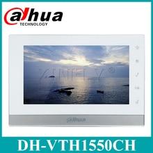 Dahua Original VTH1550CH IP Video Intercom English Version 7  inch Indoor Touch Screen Monitor Replace VTH1510CH