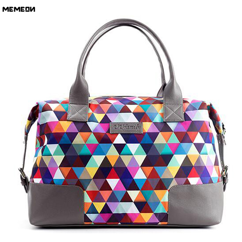 Printing Large Women Yoga Gym Bags Large Capacity Luggage Travel Duffle Bags Men Sport Ball Bag