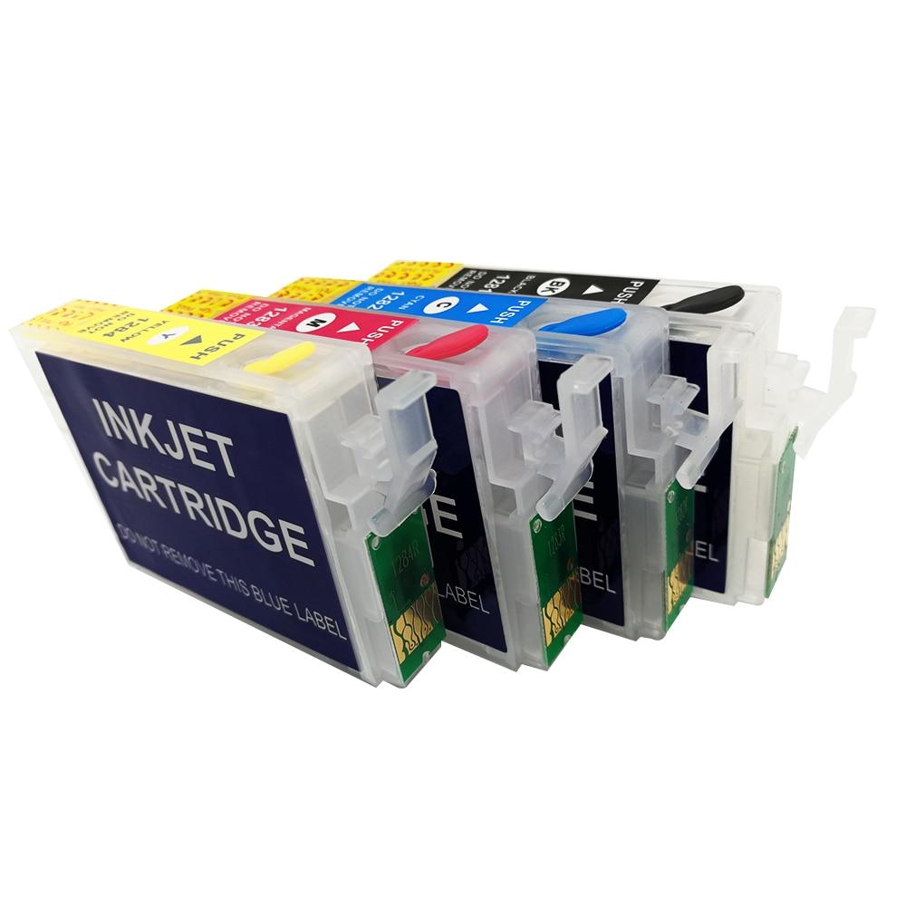 T126 T1261 чернила для EPSON NX430 рабочей силы 435 520 545 630 633 635 645 845 840 WF-3520 WF-3540 WF-7510 WF-7520 WF-7010 принтер