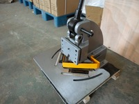 HN 4A hand operated notcher right angle shear cutting machine manual machinery tools