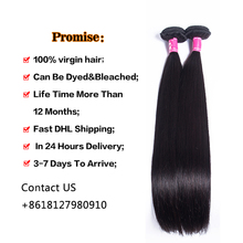 8A Brazilian Virgin Hair Straight