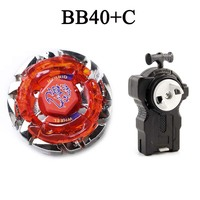 Beyblade Metal Funsion 4D BB40 With Launcher Spinning Top Kids Classic Toys For Children #E