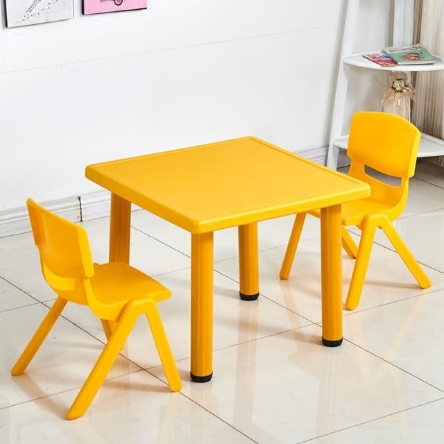 Scuola materna Tavoli e Sedie di Plastica Giocattoli Giochi Da ...