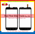 "High Quality 4.5"" For LG L70 Dual Sim Card D325 Touch Screen Digitizer Sensor Glass Lens Panel Black White Free +Tracking"
