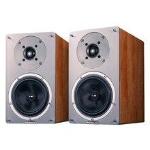 NS-1900 100 Вт домашний кинотеатр усилитель динамик 2 канала стерео 5,5 дюймов деревянный пассивный динамик