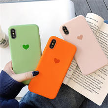 Cute Love Heart Silicone Soft TPU Case For One Plus 5 5T Cover for 6 6T 1+5t 1+6 oneplus T Matte cases