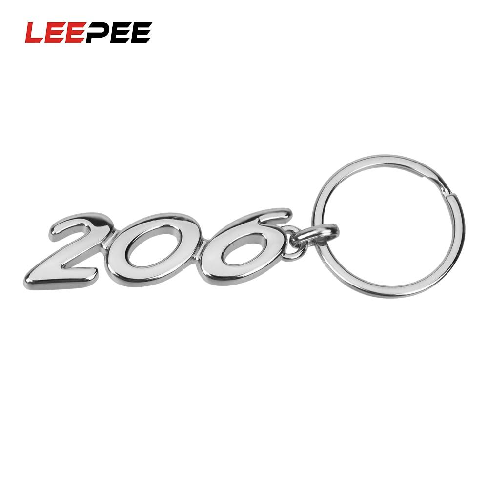 Hardwerkend Leepee Sleutelhanger Houder Voor Peugeot Universal 206 Alloy Sleutelhanger Holle Gesp Sleutelhanger Auto Accessoires Auto Sleutelhanger Fijne Kwaliteit