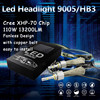 1 Set H4 9003 HB2 110w 13200lm For C Ree XHP70 H13 9004 9007 Car LED