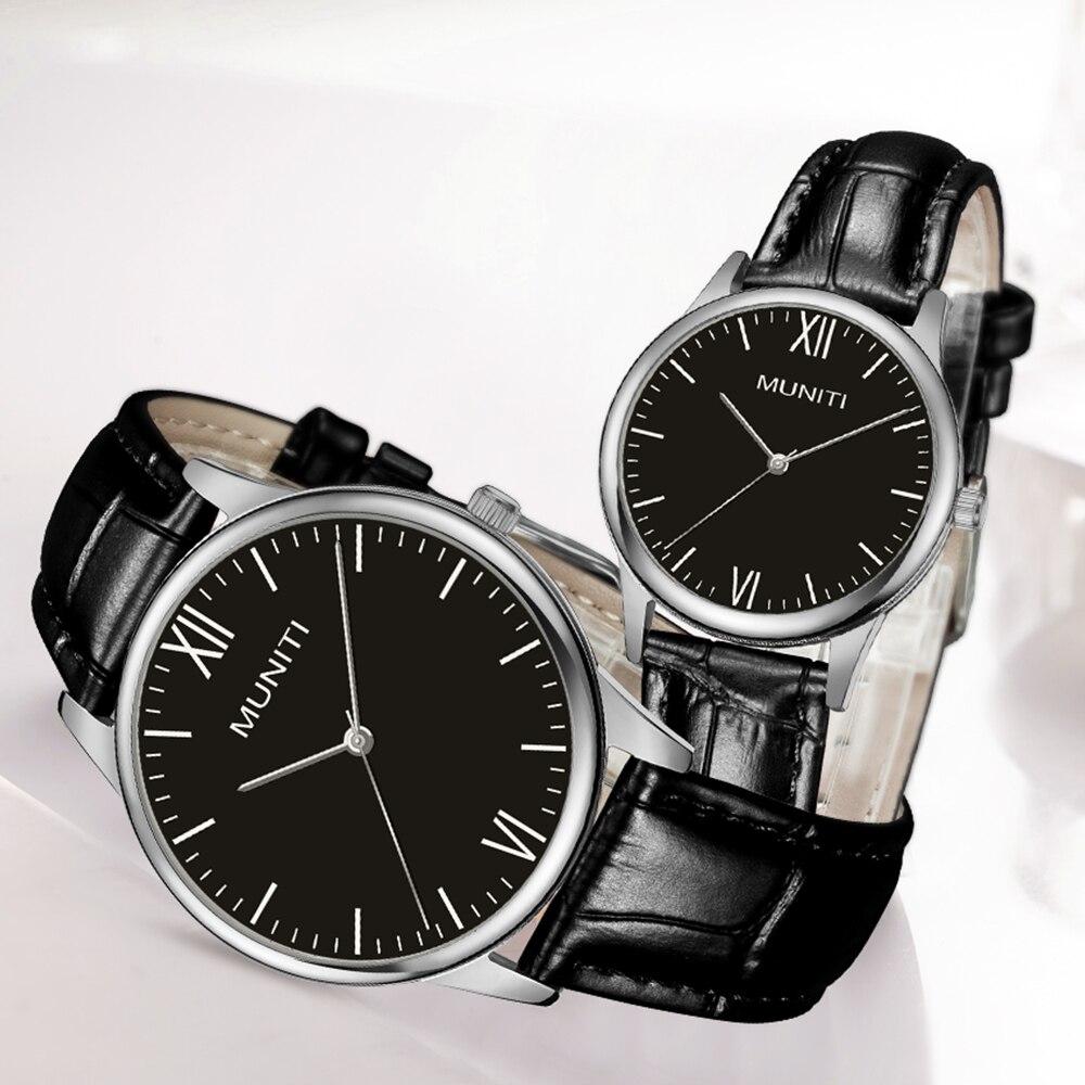 2 упак. подарок saatleri пару часов пара обувь для мужчин и женщин дизайн роскошные часы мягкий кожаный ремешок водонепроницаемый как лучший под...