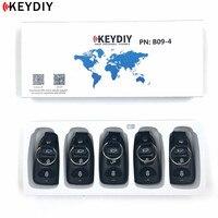 KEYDIY KD B09-4 Für KIA/Hyundai KD900/KD900 +/URG200 Schlüssel Programmierer B Serie Fernbedienung  5 teile/los