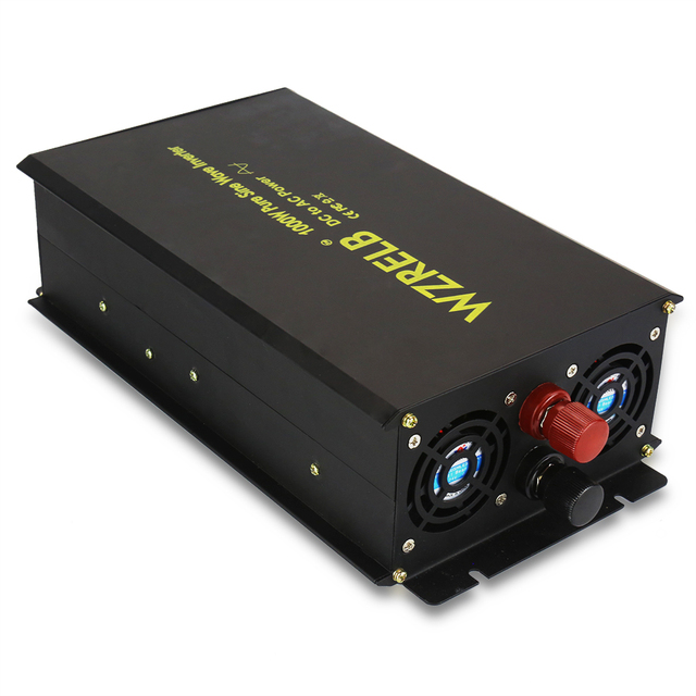 US $80 24 32% OFF|1000W Car Power Inverter 12V 220V Pure Sine Wave Solar  Inverter Transformers 24V/36V/48V DC to 120V/230V/240V AC Remote Control-in