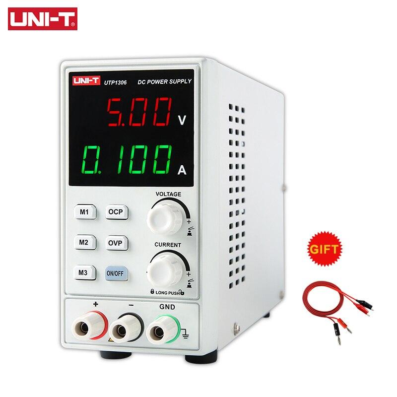 UNI-T UTP1306 Switching DC Power Supply 110V Voltage Regulator Stabilizers Digital Display LED 0-32V 0-6A Laboratory Instrument