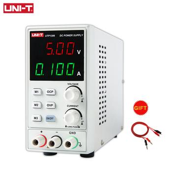UNI-T UTP1306 przełączanie zasilania prądem stałym 110V stabilizatory napięcia stabilizatory cyfrowy wyświetlacz LED 0-32V 0-6A Instrument laboratoryjny tanie i dobre opinie Elektryczne Cyfrowy tylko 80mm*150mm*230mm DC power supply UTP1306 Voltage Regulator Voltage Stabilizers 110V