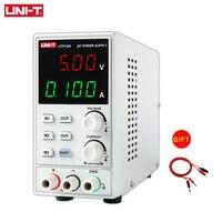 UNI-T utp1306 switching dc fonte de alimentação 110v estabilizadores regulador de tensão display digital led 0-32v 0-6a instrumento de laboratório