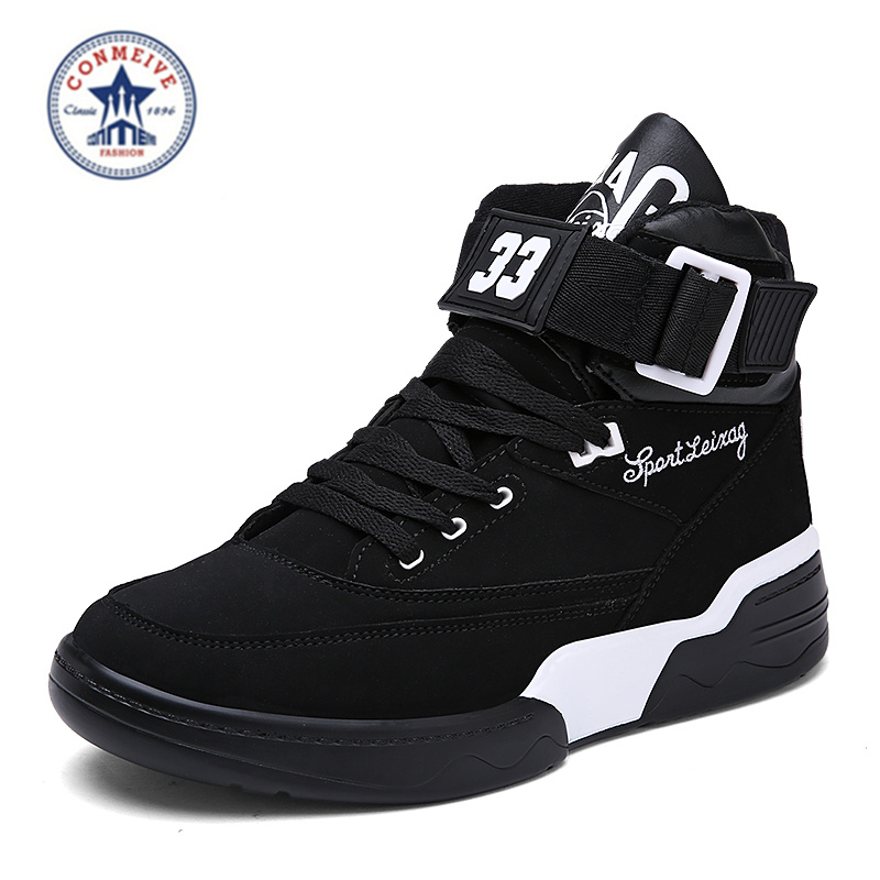 Popular Leather Basketball Shoes-Buy Cheap Leather Basketball ...