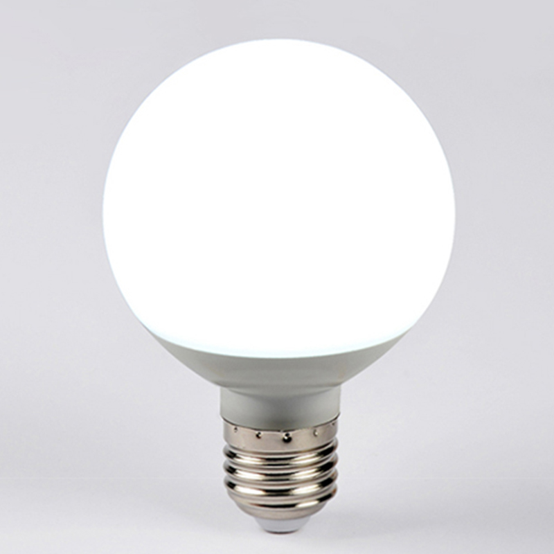 E27 LED Bulb Light 7W 9W 12W 15W Global Lamp 220V 24LEDs Warm white/White Ball Light for Chandelier Pendant Lamp
