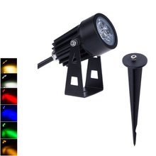 Pathway-Lamp Spotlights Flags Spike Trees Garden Waterproof Outdoor 3W 12V 220V