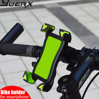 2017 Bike Accessories Bicycle Phone Holder For IPhone 4 4S 5 5s 6 6s Plus Samsung