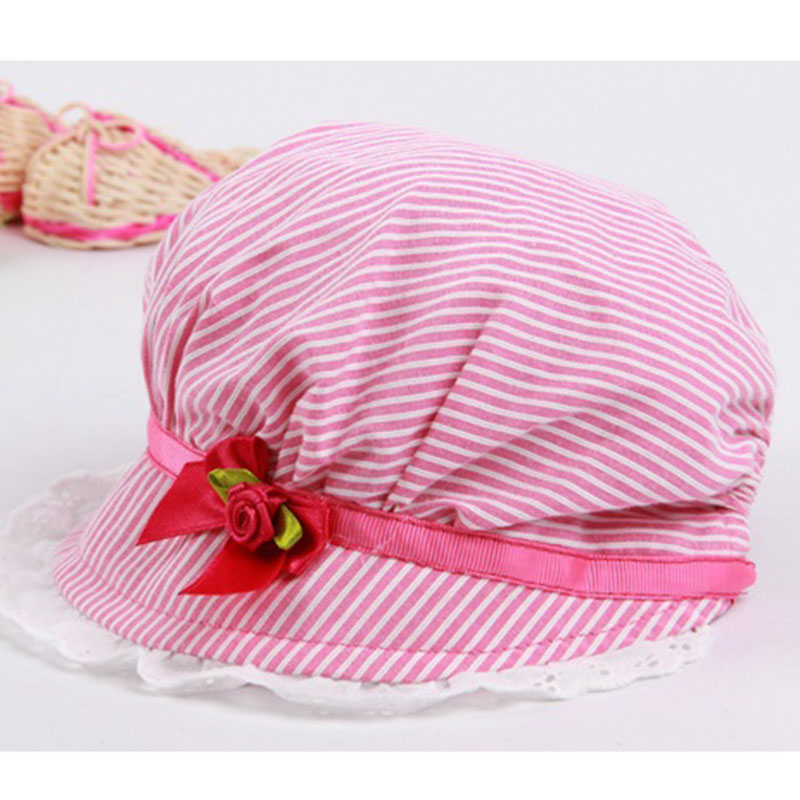 a83fcad41d5f6 Summer Sun Hat Toddlers Baby Girls Boy Lace Flower Hollow Caps Kids Summer  Hats Soft Bonnet Baby Hats Spring Autumn-in Hats   Caps from Mother   Kids  on ...