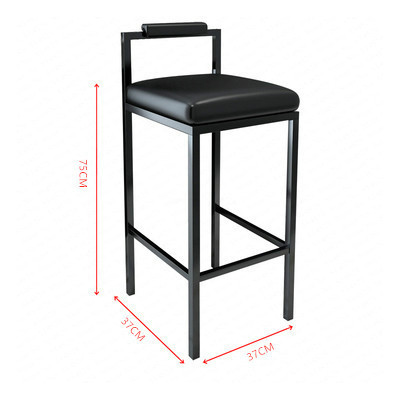 Stupendous Nordic Modern Minimalist Bar Stool Bar High Stools Home Pabps2019 Chair Design Images Pabps2019Com
