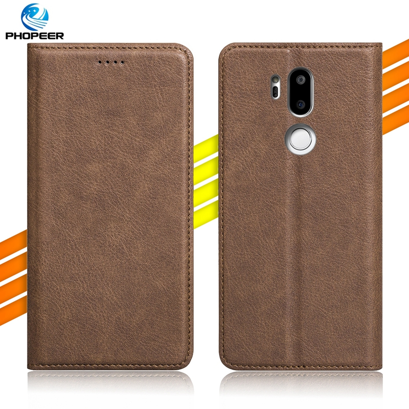 Original PHOPEER Flip PU Leather Case For LG G7 ThinQ G710 Vintage Full Protection Leather Case For LG G7 6.0 inch