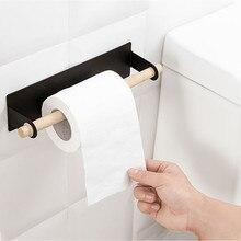 Клейкий бумажный держатель для полотенец под шкаф на крючок-вешалка кухонный шкаф для ванной Полка для полотенец Органайзер подвесной стеллаж