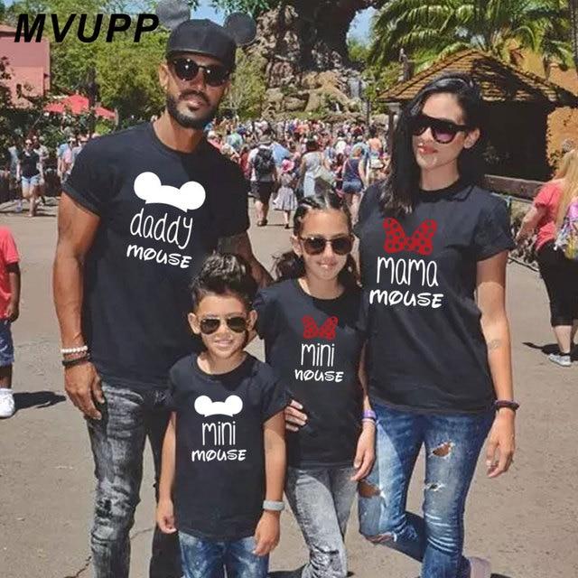 Повседневная Одинаковая одежда для всей семьи короткая футболка с принтом «Мама и мама» для мамы и меня модное платье для маленькой девочки с принтом «Большая сестра»