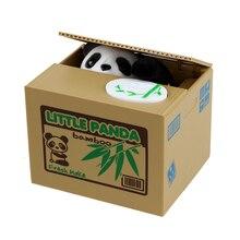 Cute Panda Thief Money Automatic Stealing Coin Money Storage Box Piggy Bank