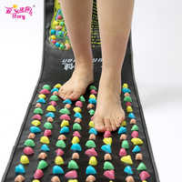 Ifory 175x35CM Foot Massage Pedal Cobblestone Pain Relief Foot Massager Acupressure Mat Health&Beauty Promote Blood Circulation