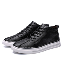 High Quality Mens casual  Shoes Slip-on Top Sneakers Lace-up Casual Men Canvas For Leather