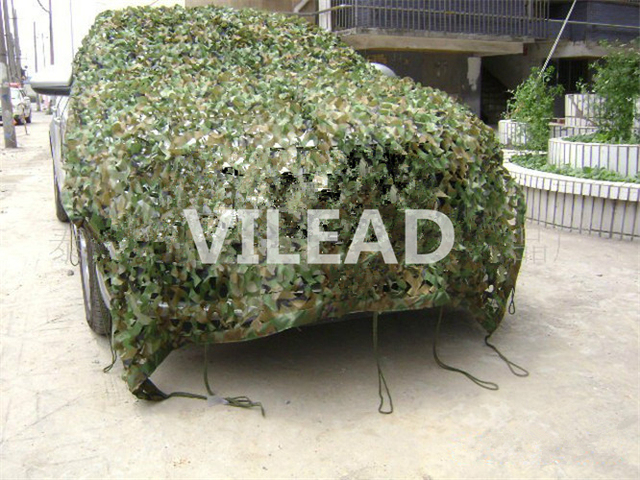 VILEAD 4M x 4M (13FT x 13FT) Woodland Digital Camo Netting Military Army Camouflage Net Sun Shelter for Hunting Camping Tent