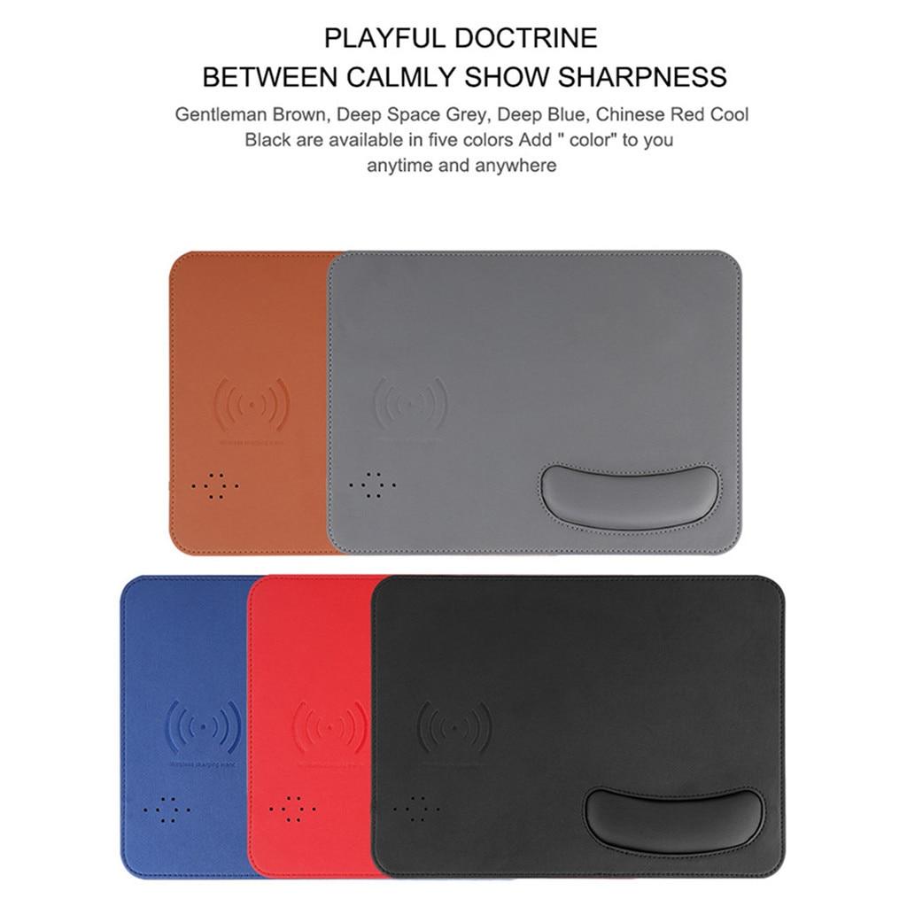 Multicolore Sans Fil De Charge USB Poignet Souris/Souris Pad Pour Téléphone Portable PC Ordinateur Portable livraison directe April13 - 2
