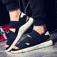 Hot Sale !2016 New Arrival Y3 Sandals KAOHE SANDALS Indoor Men Slippers Open-toed Leather Sandals Men Sandals Top Quality
