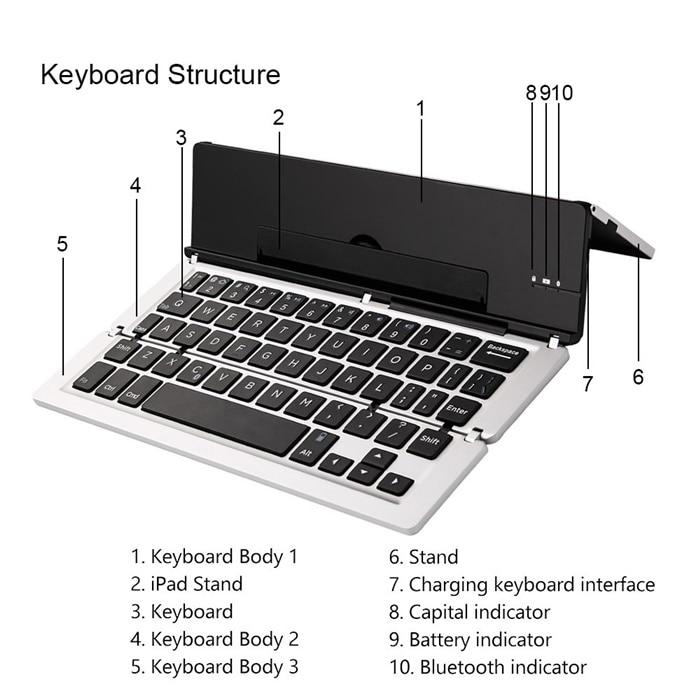 Animuss Bluetooth wireless keyboard (8)