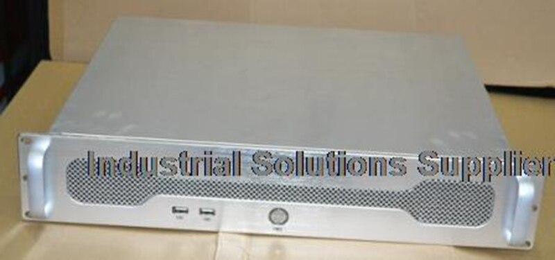 все цены на New Ultrashort 2U380 Aluminum Panel PC Case Server Monitoring POS Machine Soft Router Chassis онлайн