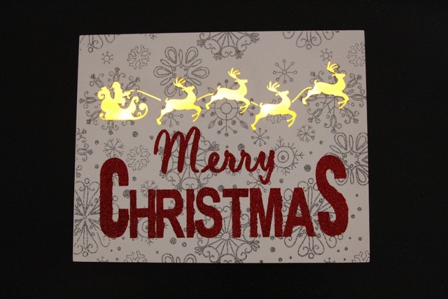 merry christmas glistening wooden frame reindeer silhouette led light wall vintage christmas decorations pendant sign - Vintage Merry Christmas