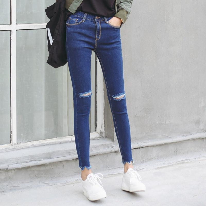 Popular Super Skinny Jeans Raw-Buy Cheap Super Skinny Jeans Raw ...