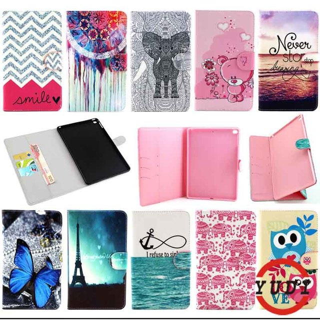 Case Cover For Apple iPad Air 2/iPad 6 (2014) PU Leather Flip Stand e-book style With Card Holder Tablet  Accessories Y4D69D