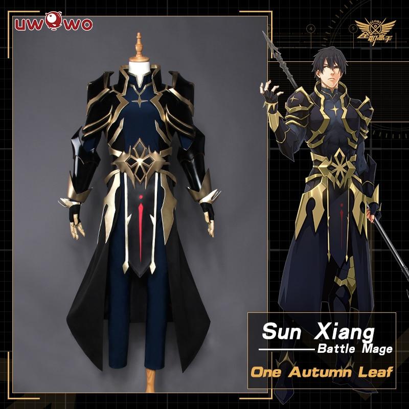 UWOWO один осенний лист Косплэй короля костюм Avatar солнца Xiang Снайпер цюань Чжи Gao шоу Uwowo костюм Для мужчин