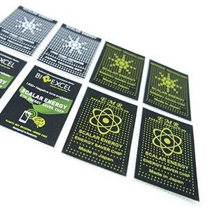 Image 5 - Pegatina de energía escalar EMR para teléfono, Protector Anti Chip de radiación para mantener la salud del ordenador portátil, protección Anti EMP EMF para mujeres embarazadas, 50 Uds.
