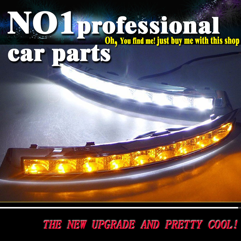 car styling 2002-2014 For Volvo XC90 LED DRL led fog lamps daytime running light High brightness guide LED DRL for lexus rx gyl1 ggl15 agl10 450h awd 350 awd 2008 2013 car styling led fog lights high brightness fog lamps 1set