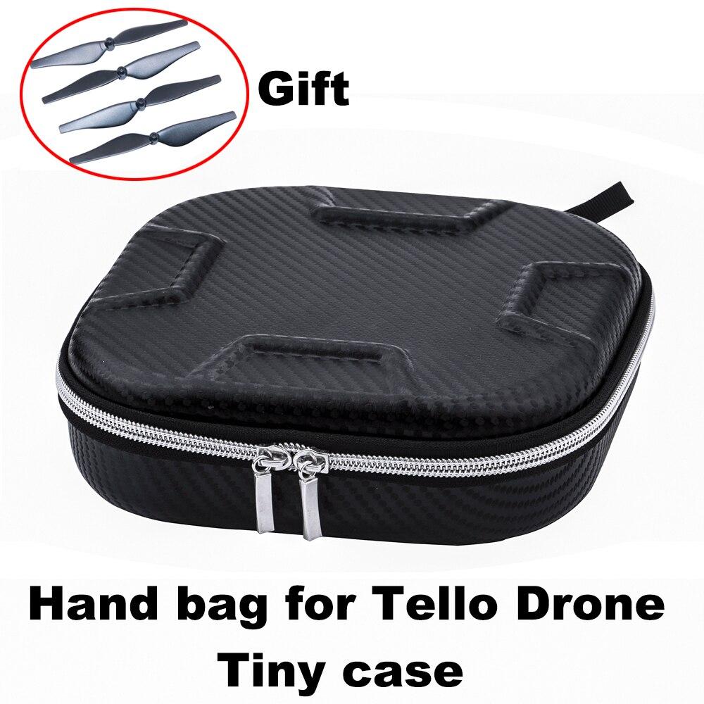 DJI Tello bolsa portátil EVA funda de transporte para Ryze Tello wifi Drone Cable de batería estuche de almacenamiento bolso Caja impermeable Protector