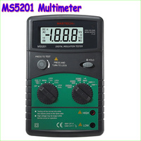 MASTECH MS5201 Digital Megger Megometro Mega Ohm Insulation resistance tester Sound and light alarm