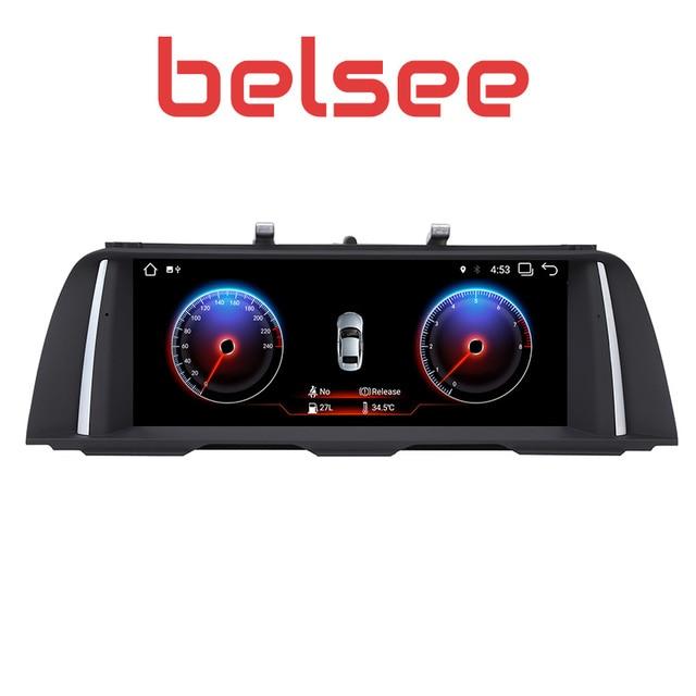 "Belsee PX6 6 Core 10,25 ""Экран Android 8,1 оперативная память 2 Гб автомобиля gps навигации Мультимедиа Экран для BMW 5 серии M5 F10 F11NBT iDrive"
