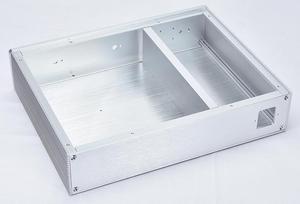 Image 3 - KSA 5 Серебряный алюминиевый усилитель аудио шасси мини усилитель мощности коробка DIY AMP Case